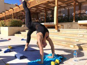 bridge-pose-luxury-yoga-retreat-egypt