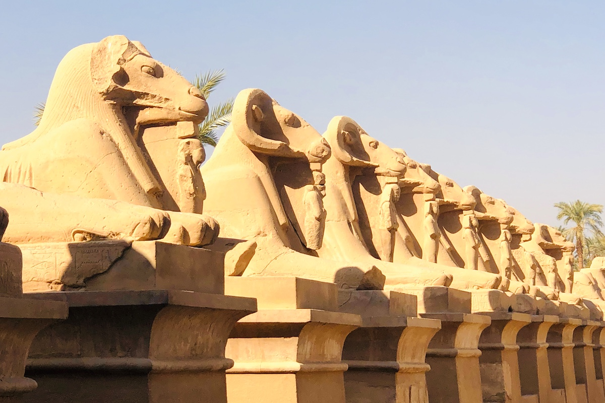 Luxor on a luxury yoga retreat in Egypt with Yoga Escapes.