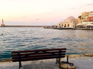 chania town on a yoga retreat in crete greece