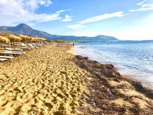 falasarna beach on a luxury yoga retreat in crete greece