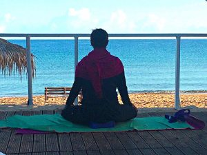 meditation in crete greece on a luxury yoga retreat