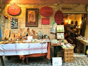 shopping in chania crete greece with yoga escapes