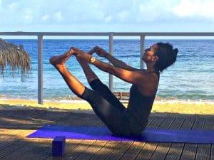 tania brown yoga teacher with yoga escapes