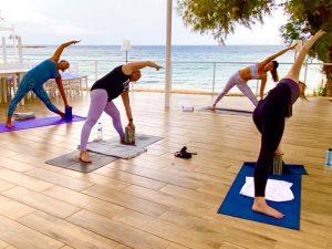 triangle-pose-luxury-yoga-retreat-crete-greece